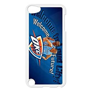 Generic Cell Phone Cases For Ipod Touch 5 Cases Design With 2015 NBA Oklahoma City Thunder(OKC) #0??Russell Westbrook niy-hc831579