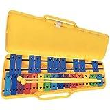 BSX Xylophone chromatique 25 lames Multicolore