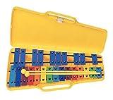 BSX Glockenspiel with 25 Keys Chromatic Multi-Coloured