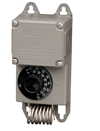 J&D Manufacturing VC115-C Moisture Proof Thermostat Control, Single Stage, 115V Cord by J&D Manufacturing