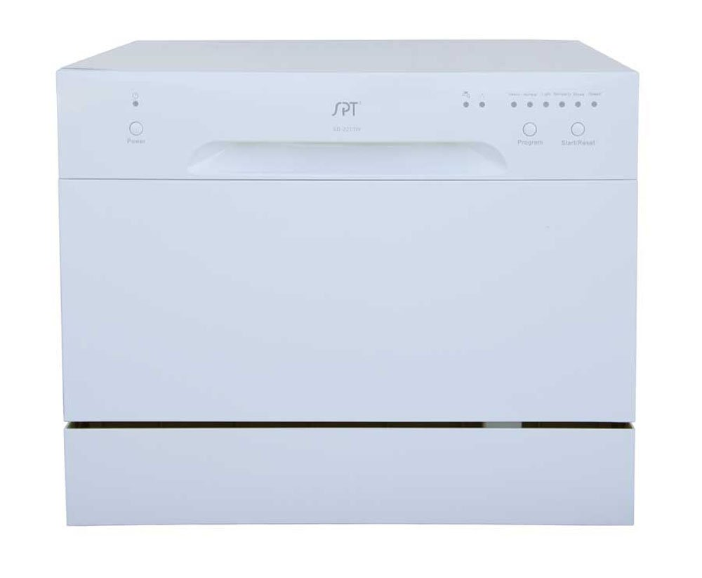 SPT SD-2213W Countertop Dishwasher, White