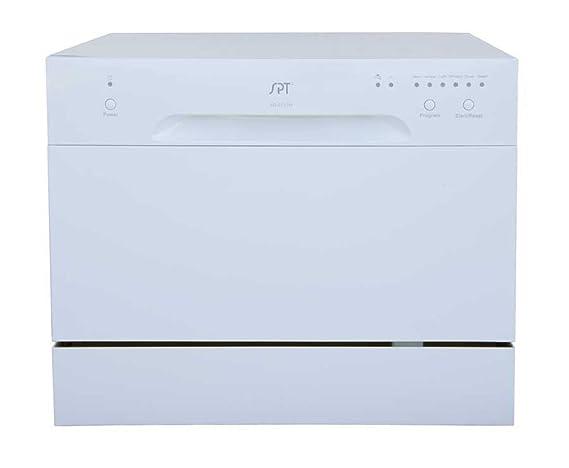 SPT SD 2213W Countertop Dishwasher, White