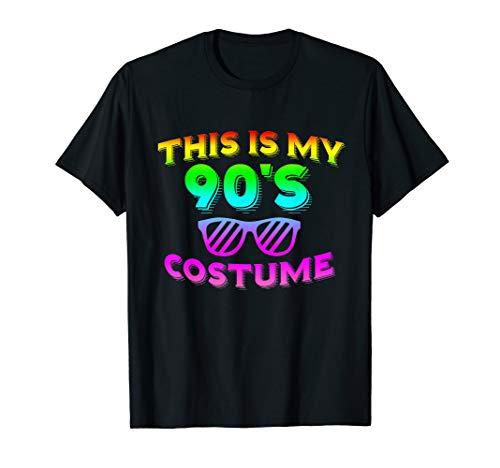 This Is My 90s Costume Shirt Halloween Costume T Shirt 1990s -