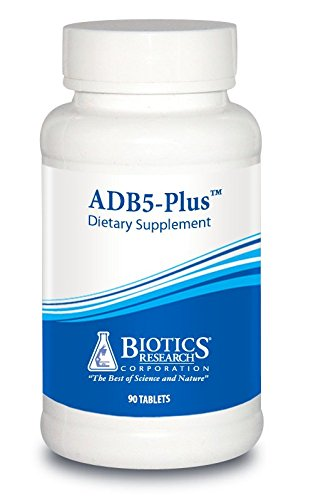 ADB5-Plus Adrenal Support supplement - By Biotics Research 90 Tablets
