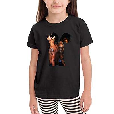 Cotton Rae Sremmurd SremmLife Boys Girls T Shirts Youth Soft Tee Shirt Black