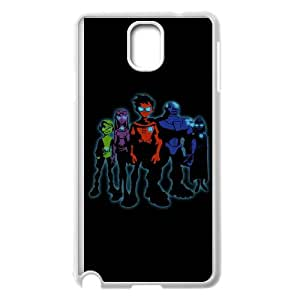 Teen Titans Samsung Galaxy Note 3 Cell Phone Case White Delicate gift JIS_327909