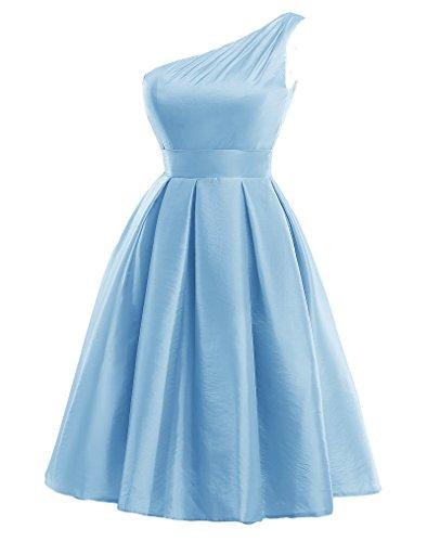Mall Monospalla Bridal Blu Donna Vestito AqnTX