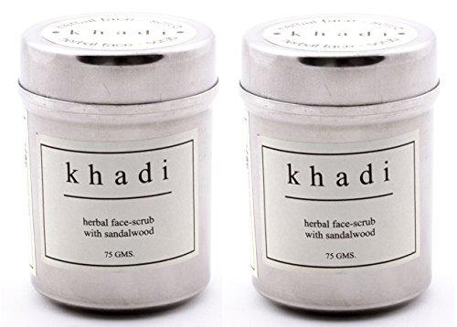 Khadi-Herbal-Face-Scrub-Sandalwood-Pack-of-2
