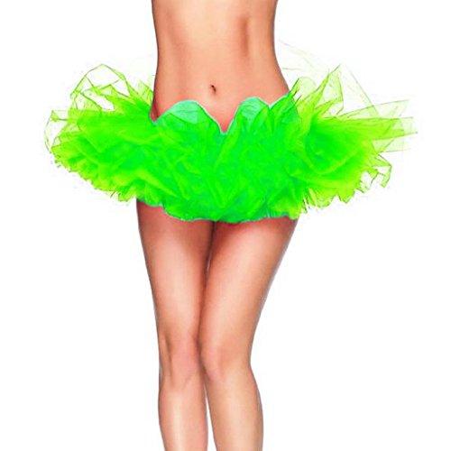 Jupe tutu sexy pour femme Buenos Ninos Green