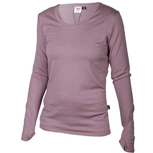 Merino 365 Women's OG Long Sleeve Medium, Chateau Pink