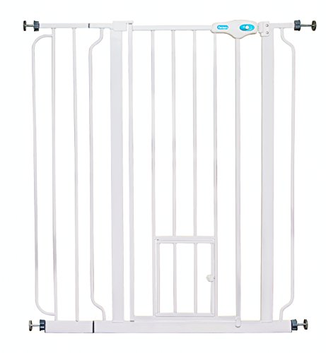 Carlson Extra Tall Pet Gate With Small Pet Door Import