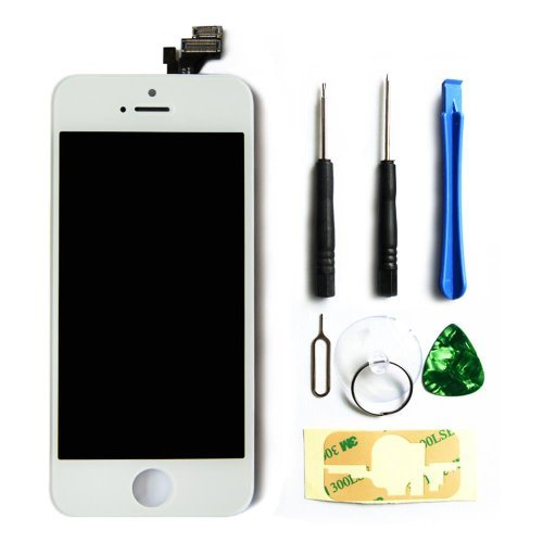 lcd-touch-screen-digitizer-frame-assembly-full-set-lcd-touch-screen-replacement-for-iphone-5-white