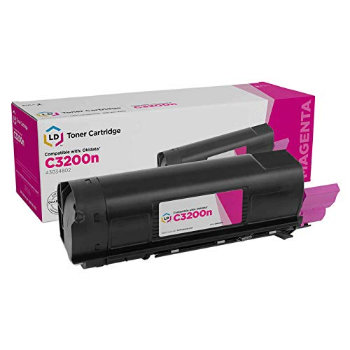 (LD Compatible Toner Cartridge Replacement for Okidata 43034802 Type C6)