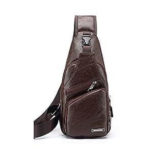 Amazon.com: Kofun Chest Bag, Mens Crossbody Single Shoulder ...