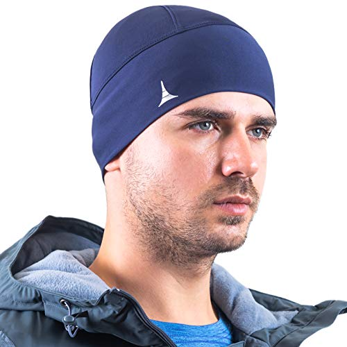 (French Fitness Revolution Helmet Liner Skull Cap Beanie. Ultimate Thermal Retention and Performance Moisture Wicking. Fits Under Helmets)