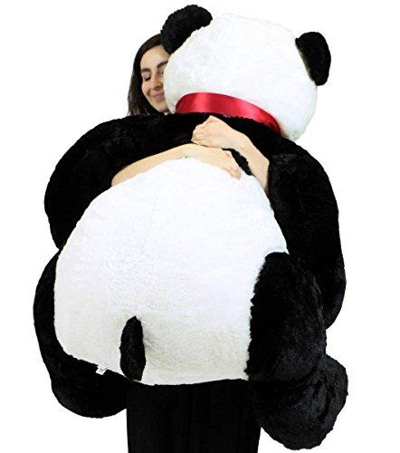 Life Size Soft Stuffed Panda Huge Big Plush Bear 3 Feet Tall And 3