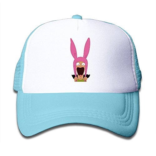 Price comparison product image Custom Enfant Snapback Bob's Burgers Trucker Hats Caps SkyBlue
