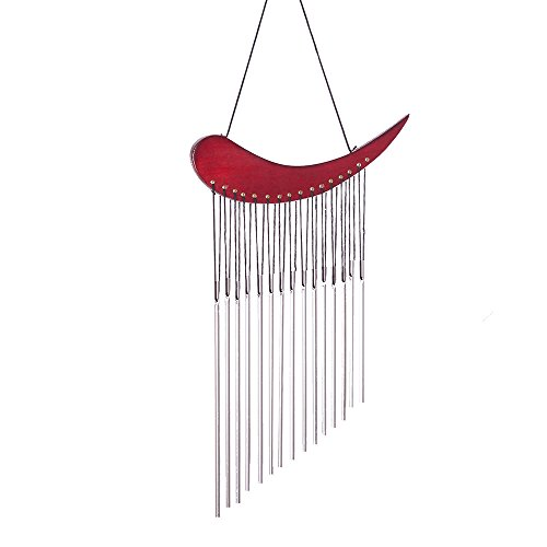 Hand Tuned Aluminum Feng Shui Wind Chime for Patio, Garden, Terrace and Balcony – Beautiful Outdoor Decor WIN515