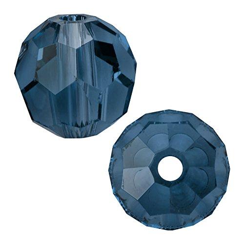 SWAROVSKI Crystal, 5000 Round Beads 4mm, 12 Pieces, Montana
