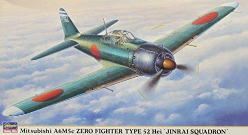 Fighter A6m5c Zero - Hasegawa 1:48 Mitsubishi A6M5c Zero Fighter Type 52 Hei Jinrai Squadron #09460