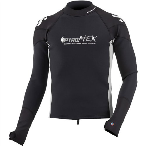 ScubaPro Mens Pyroflex Long Sleeve Rash Guard (Medium) by Scubapro