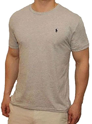 premium selection 40cc0 14ce3 Polo Ralph Lauren Men's Classic Fit Solid Crewneck T-Shirt