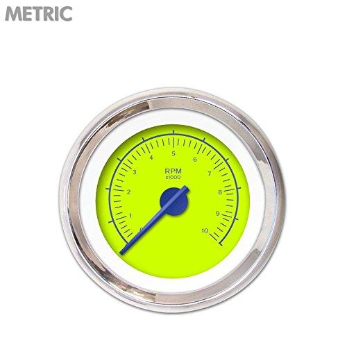 Aurora Instruments GAR247ZMXIABCF VX Green Tachometer Gauge