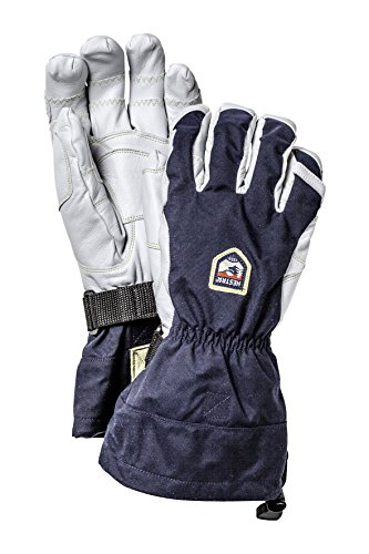 Hestra Heli Ergo Grip Gloves, Navy/Off White, 8