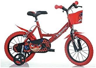 """Bicicleta de niña """"Miraculous"""" 144R con ruedas de 35,56 cm (14 ..."""