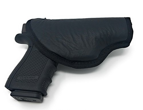 Houston IWB Gun Holster ECO Leather Concealed Carry Soft