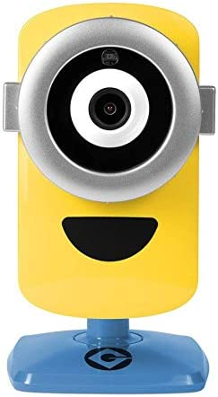 Tecmobile Universal Studios Stuart Cam Minion IP Kamera in HD Tag/Nacht gelb