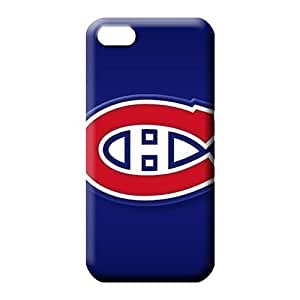 iphone 6plus 6p Plastic cell phone shells pattern Highquality montreal canadiens
