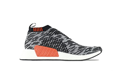 Adidas Men NMD CS2 Primeknit black core black future harv...