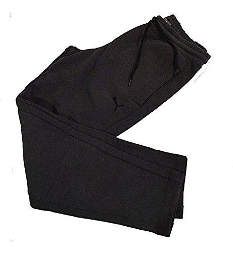 Puma Men's Fleece Pant, Many Size & Colors (Dark Grey, La...
