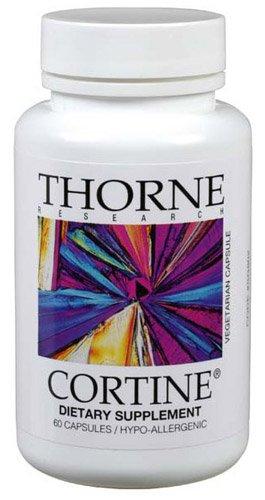 Thorne Research Cortine, 60 Vegetarian Capsules