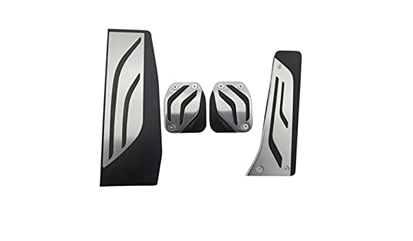 Emblema Trading Emblema Performance schaltung Acero Inoxidable Pedales Pedal reposapiés arcón 1 3 4 F20 F30 F31 F32 F33 F34 F36 M3 F80 M4 82 M3: Amazon.es: ...
