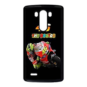 Valentino Rossi theme pattern design For LG G3 Phone Case