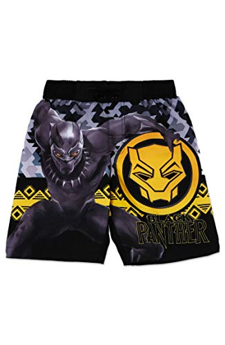 Dreamwave Boys' Black Panther Swim Trunk 7 ()