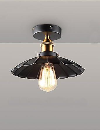 Vintage REYP Simple Lámpara de techo en hierro forjado luces ...