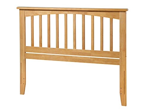 Atlantic Furniture Mission Headboard, Queen, Natural