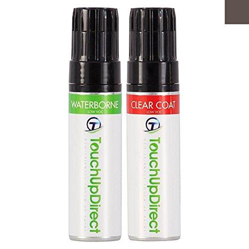 TouchUpDirect Honda Civic Careful-Match Automotive Touch-Up Paint - YR-600M Kona Coffee Metallic - 0.5 oz. Jar - Essential Package