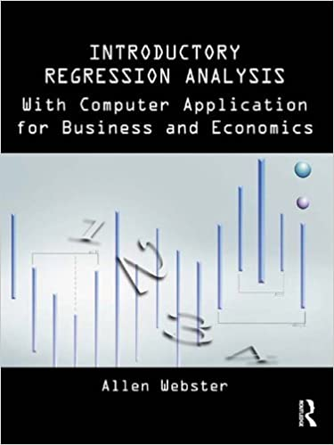 Introductory Regression Analysis: with Computer Application for