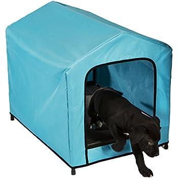 Amazon.com : Blue Portable Pop-Up Pet Tent Medium / Large