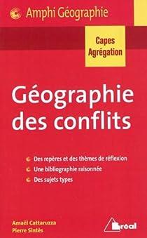 Géographie des conflits par Cattaruzza