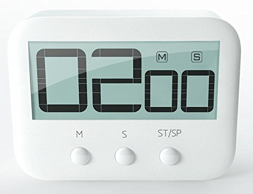 Epotech Digital Kitchen Timer Cooking Timer Loud Alarm Magnetic Backing Stand Super Large Screen