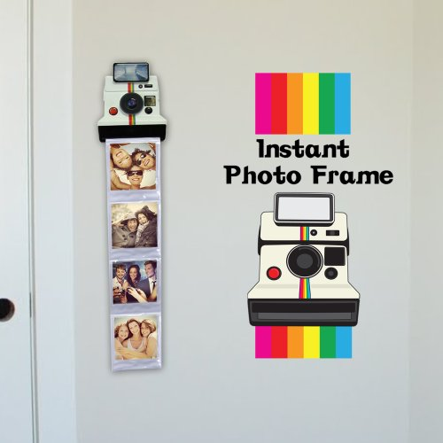amazoncom thumbs up instant photo frame polaroid photo frame