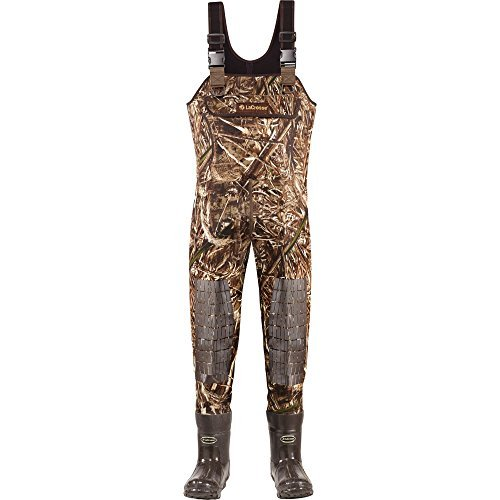 - Lacrosse Waders Super Brush Tuff Realtree Max-5 1200G (700152) | Waterproof | Insulated Modern Comfortable Hunting Combat Boot Best for Mud, Snow (Stout = 12)