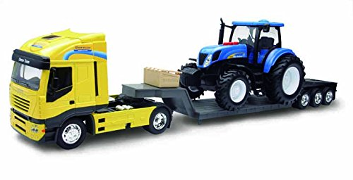 Iveco Scala 1:24 NewHolland T7070 Try Me NewRay 01693 Battery Operated Scala 1:32
