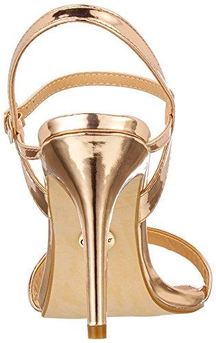01 Donna 181487 Eu 42 Beige Caviglia Con champagne Alla Sandali Buffalo Cinturino AzxwqOYFwU