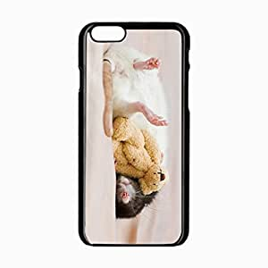 iPhone 6 Black Hardshell Case 4.7inch dream rodent Desin Images Protector Back Cover
